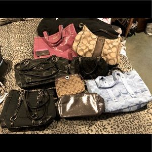 Bundle of Coach handbags... awesome condition!